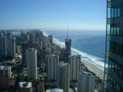 56階3ベッドルームのお部屋からの海側景色
