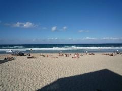 サラサラの砂浜と美しい海