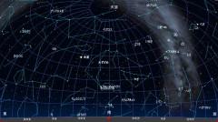 10月の星空(黒)