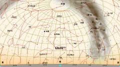 10月の星図(白)