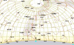 2月の星図(白)