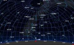 2月の星図(黒)