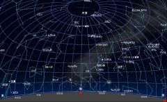 3月の星図(黒)