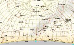 3月の星図(白)