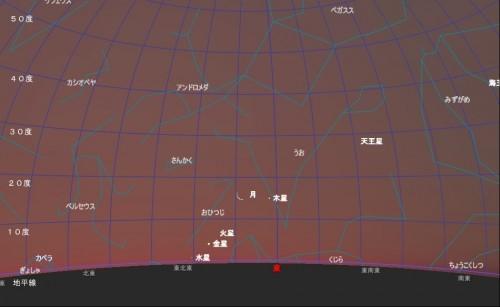 2011年5月30日星図