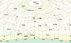 5月の星図(白)