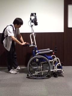 自走式車椅子ロボット