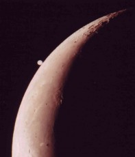 木星食の様子
