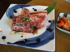 国産黒毛牛カルビセット100g1450円
