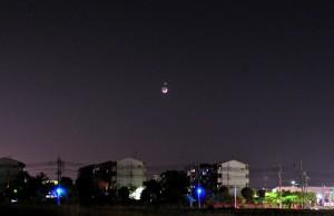 2010年5月16日月と金星の接近