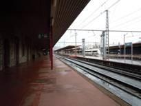 イルン駅ホーム