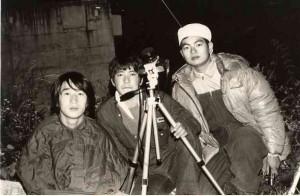 1972年ジャコビニ流星群観測風景(長野県八千穂村にて右が私です)