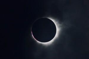 ケアンズ近郊で見た皆既日食