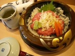 ねぎとろ丼ランチ1050円