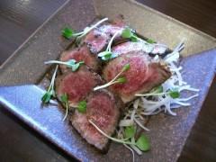 タタキ風和牛ローストビーフ