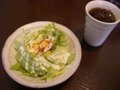 3.セットサラダ&ドリンクl