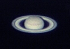 土星の姿 撮影:浦辺守