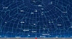9月の星空(背景黒)