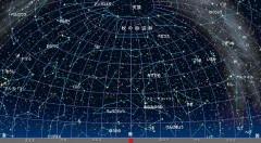 10月の星空(背景黒)