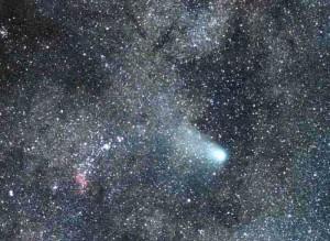 1986年に見られたハレー彗星