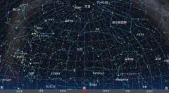 11月の星空(背景黒)