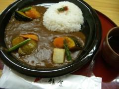彩り野菜カレー980円
