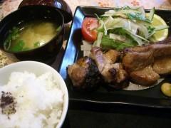 本日のお肉料理・スペアリブ
