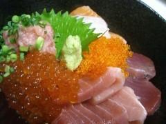海鮮丼1400円
