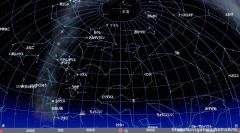 12月の星空(背景黒)