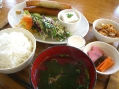 豆腐と生ハムの春巻き揚げセット980円