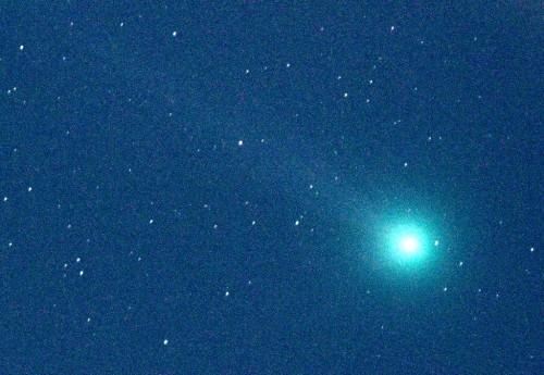 1月13日に撮影したラブジョイ彗星