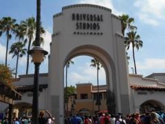 ユニバーサル・スタジオ・ハリウッドのエントランス