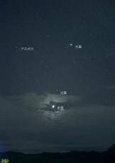 151111明けの明星火星木星3時42分名入DSC_0637l
