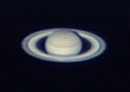 土星(撮影:浦辺守氏)