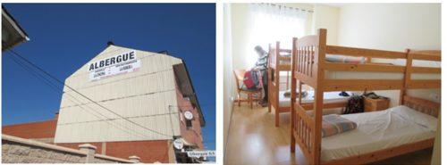 Orbigoの私営アルベルゲ   私たちの部屋