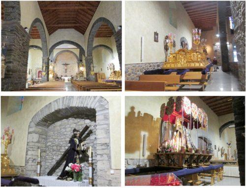 教会内 Cacabelosでもセマナサンタの行事があったのだろう