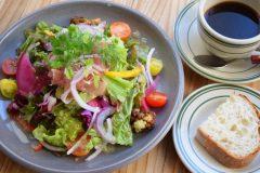 生ハムと彩り野菜のサラダセット
