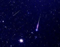 以前に見られた流星の例