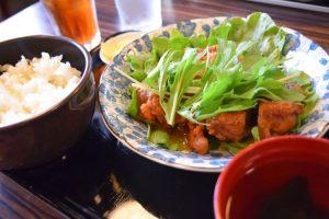 和風おろし鶏定食650円